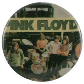 Pink Floyd - 'Group Drums' Button Badge